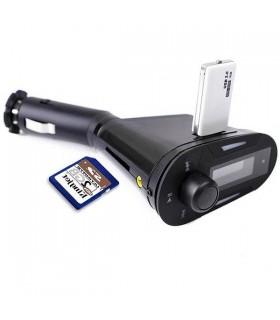 Wireless FM трансмитер USB SD MMC LCD