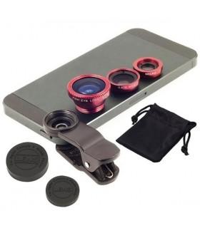 Универсални обективи за телефон 3 в 1