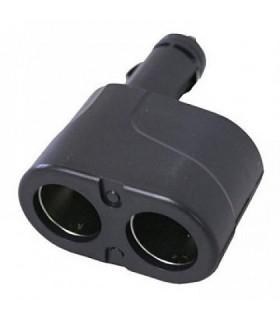 Разклонител за запалка 2 входа 12V/24V
