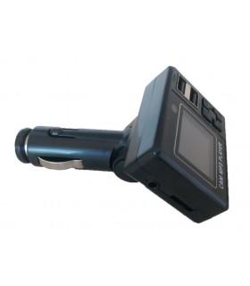 FM Трансмитер за кола + USB зарядно 2.1А