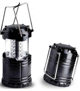 Соларна къмпинг лампа с USB зарядно