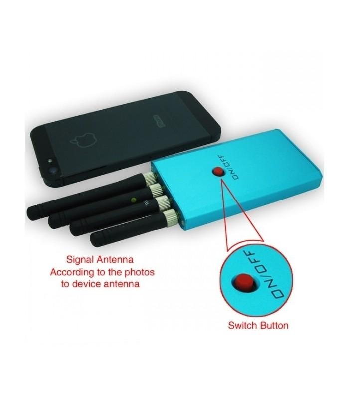 Заглушител за WiFi , 3G, GPS и Мобилни сигнали
