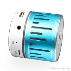 LED MP3 блутут колонка с FM радио, USB, TF Карта памет