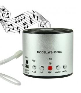 Мини блутут спийкър MP3/USB/MicroSD/FM