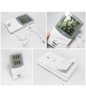 Термометър за вътрешна и външна температура TA338