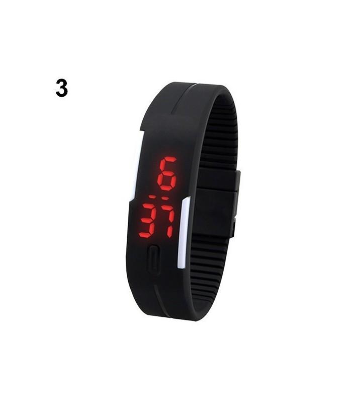 Силиконови LED часовници тип гривна