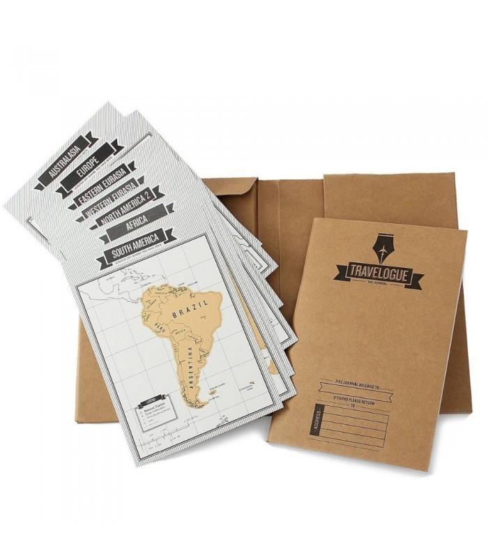 Дневник на пътешественика + скреч карти