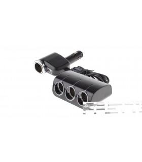 Мощен 120W разклонител за гнездо на автозапалка х4 + USB