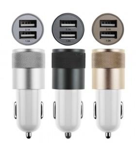 3.1A USB адаптер за автомобилна запалка