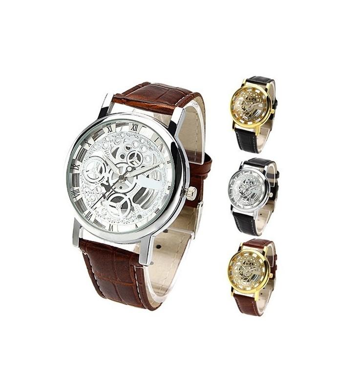 Унисекс часовник скелетон