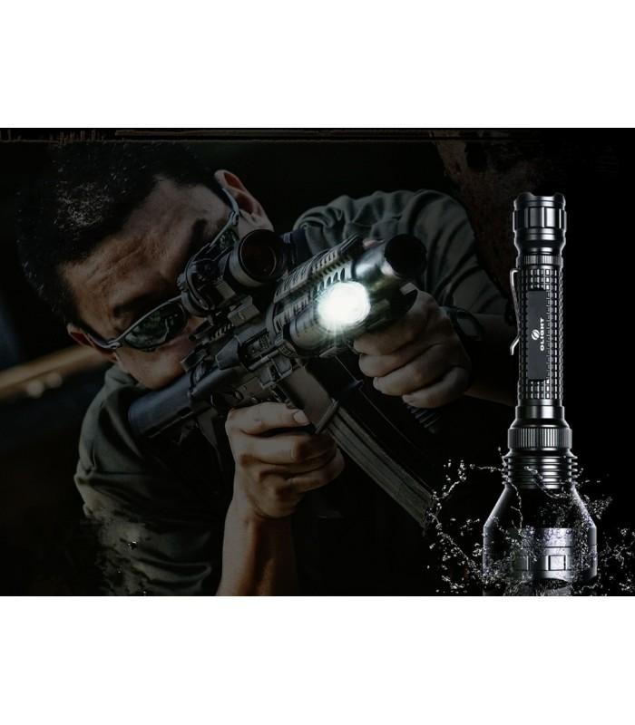 Мощен прожектор с опция за монтаж върху оръжие