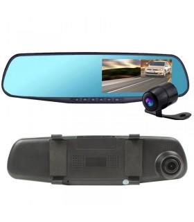 Видеорегистратор в огледало + камера за задно виждане