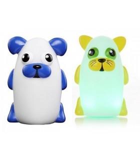 Детска нощна лампа – животинче