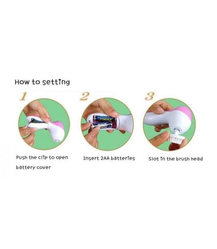 Електрическа четка за почистване на лице