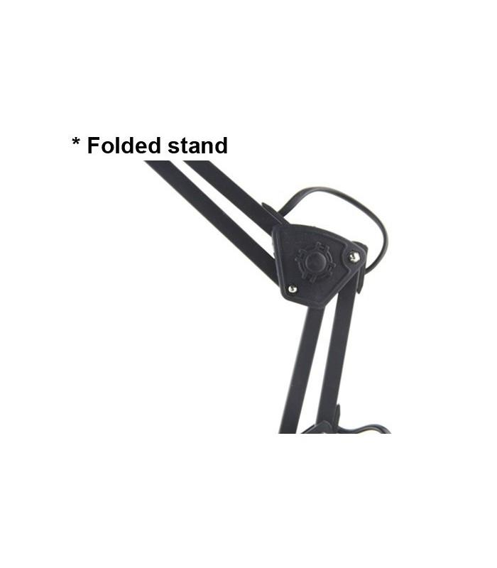 Настолна лампа с чупещо рамо и увеличение