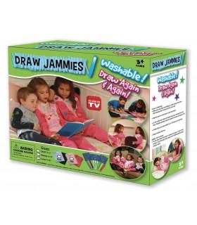 Перящи маркери за дрехи Draw Jammies