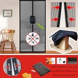 Мрежа (комарник) за врата с магнити против насекоми