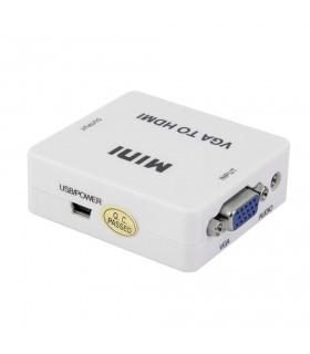 VGA към HDMI видео конвертор 1080P