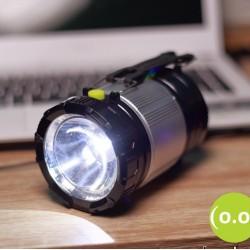 Къмпинг соларна лампа с USB изход